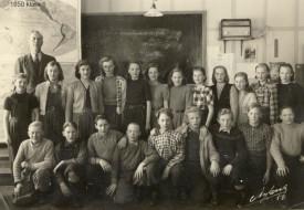 Linsells folkskola klass 6 år 1950 Lärare: Nils Håkansson