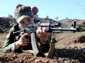 Påfallande många nätbilder av Peshmerga...