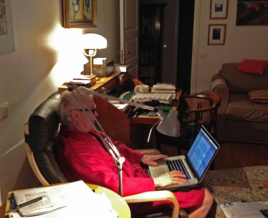 Interiör från redaktionen i slutet av förra året.