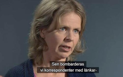Anna-Lena Laurén  Bild: klippt ur intervjun i Kunskapskanalen