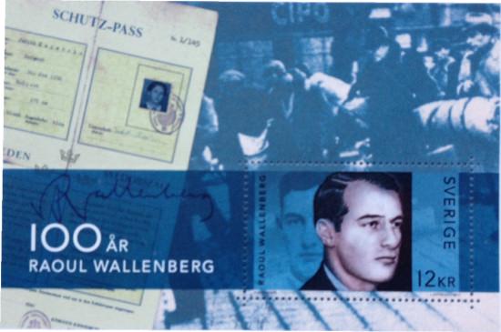 raoul-wallenberg-frimarke