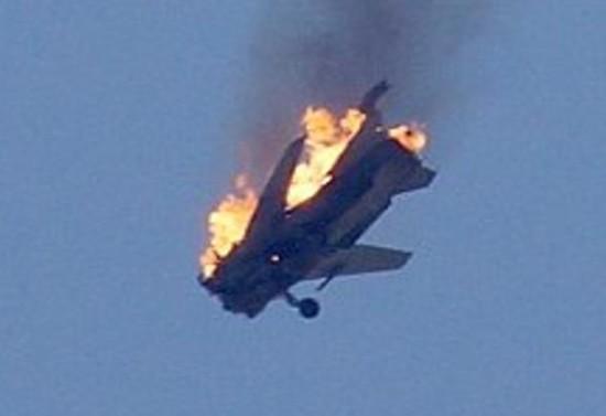 SyAAF-Su-24-downed