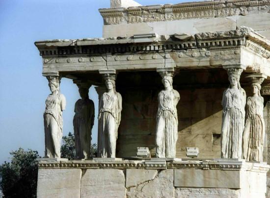 Erechtheiontemplet på Akropolis