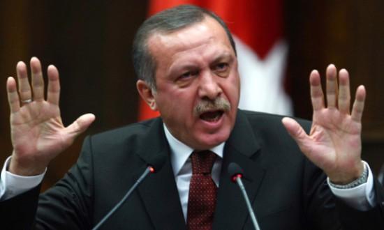 Erdogan blånekar