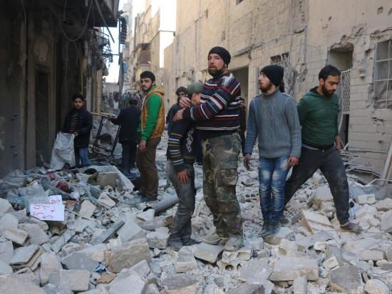 Civillians-Aleppo