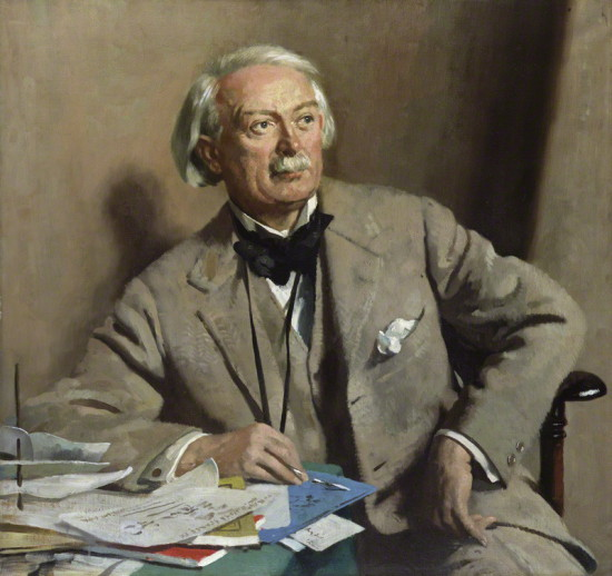 by Sir William Orpen, oil on canvas, 1927