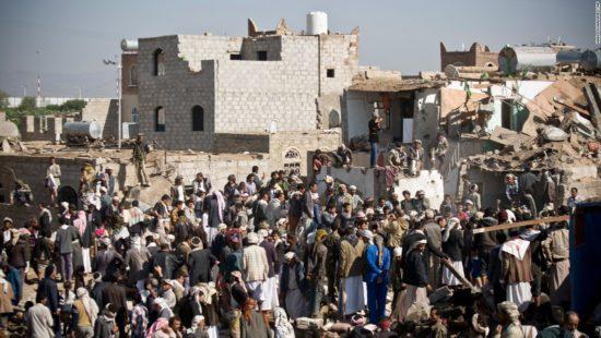 Yemen bombning