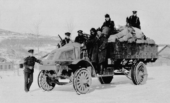 Kanadas expeditionsstyrka i Sibirien år 1919