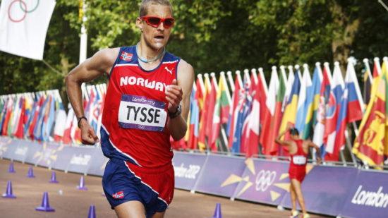 Den norske gångaren Erik Tysse